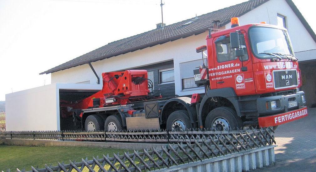 Fertiggarage beton gewicht  Fertiggaragen - Eigner Fertigbau - Nördlingen